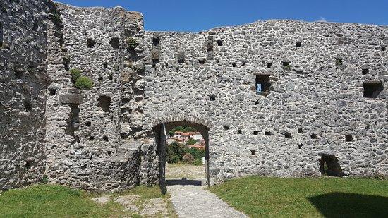 Hrastovlje, Slovenia: inside the fortress