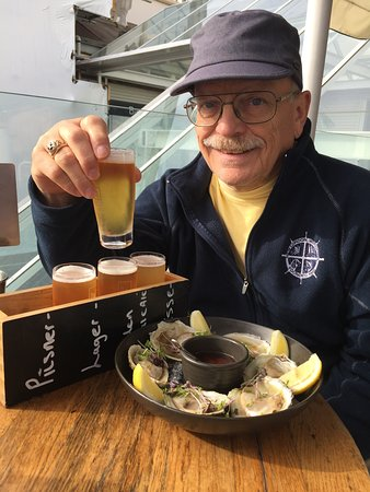 Dr Rudi's Rooftop Brewing Co.: He's in heaven right now.