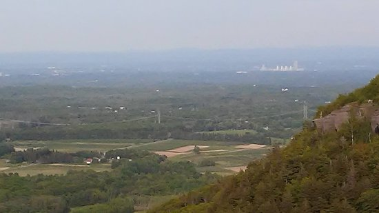 Voorheesville, NY: View from Thacher Park
