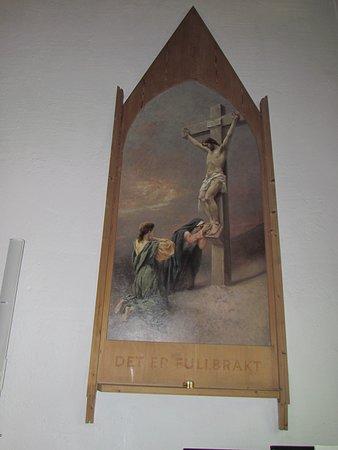 Vardø Kirche altes Altarbild