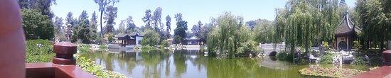 San Marino, CA: Panoramica jardim chines
