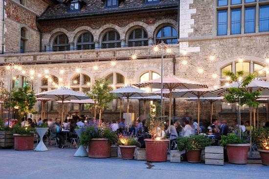 Oase Terrassen terrasse sommer oase - bild von restaurant spitz, zürich - tripadvisor