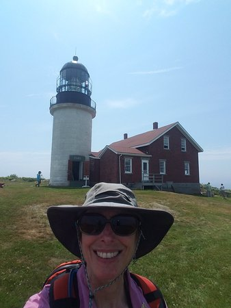 Seguin Island and Lighthouse foto
