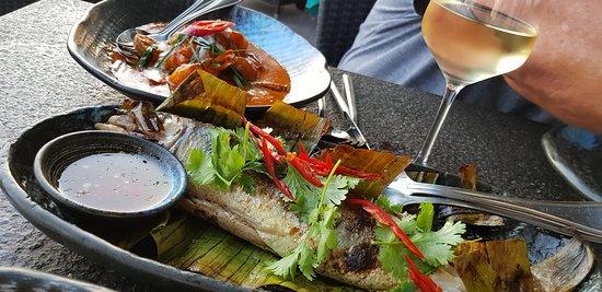 Thais Restaurant Phuket: Sea bass
