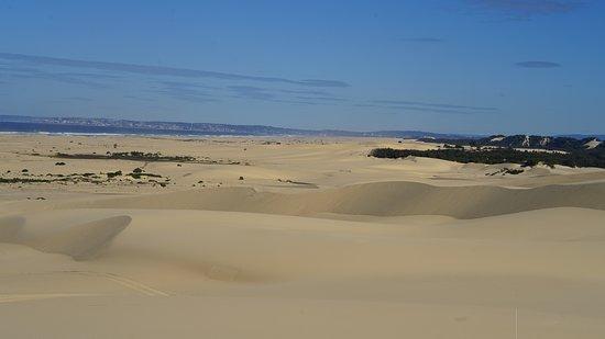 Quadtocht door Worimi-zandduinen: The 32k of sand dunes are beautiful