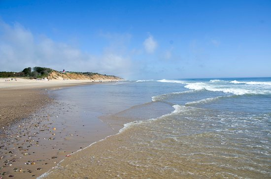 Nauset Light Beach: In late afternoon be sure to have flip-flops or other foot protection because the sand gets HOT!