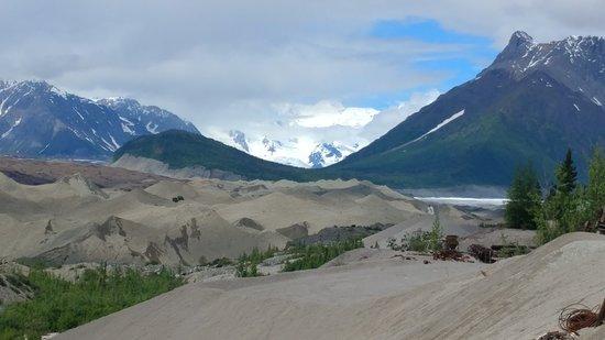 Parque Nacional y Reserva Wrangell-St Elias, AK: Up the valley