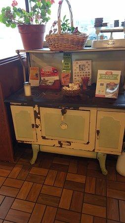 Mauston Park Oasis Restaurant: old stove display