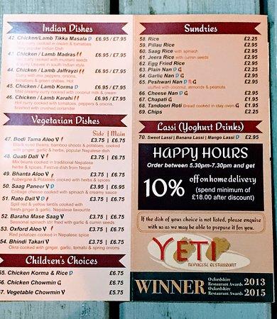 Yeti Nepalese Restaurant照片