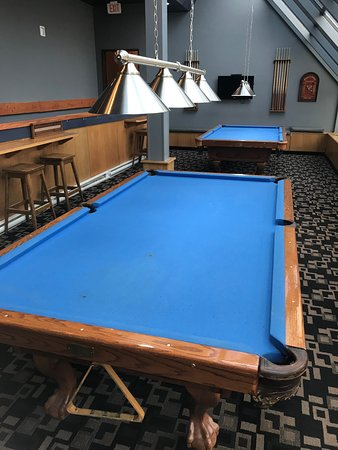 CHALK Spirits ~ Tapas ~ Billiards: Another snooker table angle