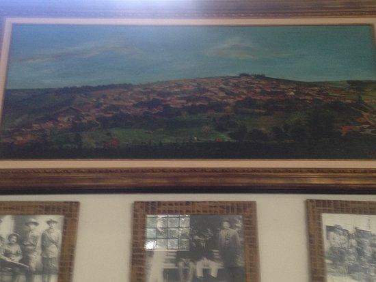Constantino Leman History Museum: Quadro de Pirajú nos anos 40