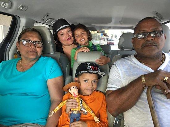 Tappsi Transportation: Wilfredo & Family Catano, Puerto Rico