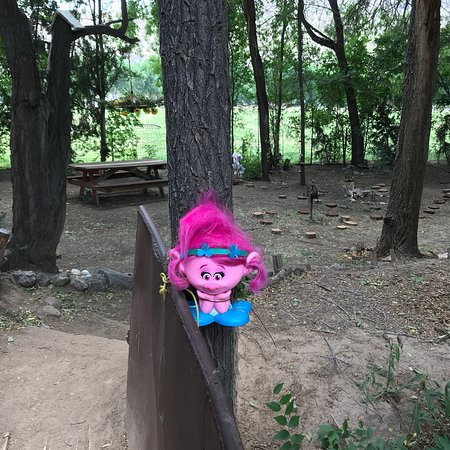 Hondo, NM: The unique troll at end of Troll Bridge
