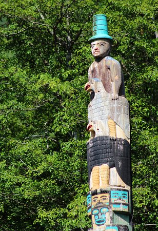 Totem Bight State Historical Park: Totem