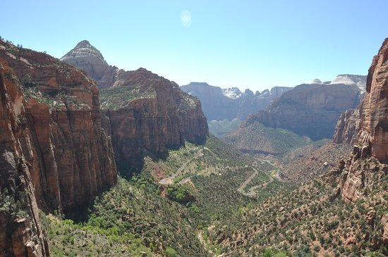 Canyon Overlook Trail: amazing view