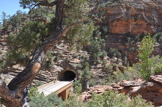 Canyon Overlook Trail: tunnel