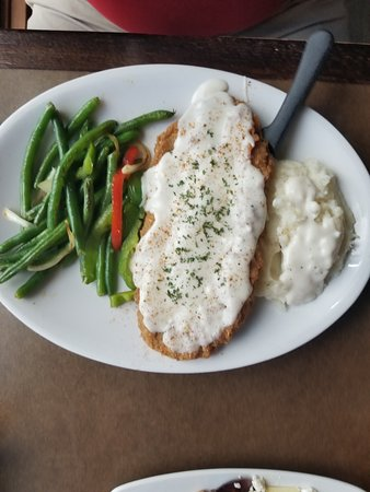 Backstop Bar & Grill: Country fried steak