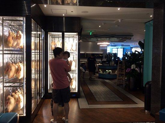 Huayueting (Tianhui IGC): Entrance Area with Duck Display