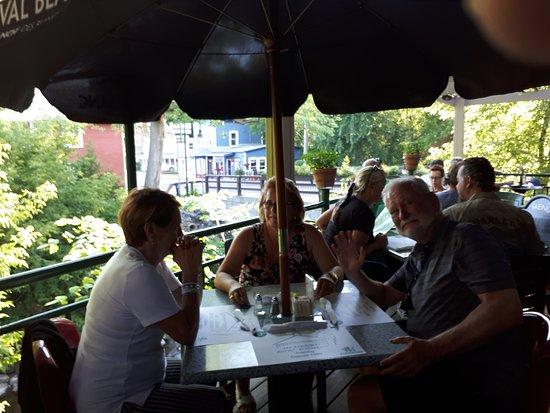 Frelighsburg, Canada: la terrasse