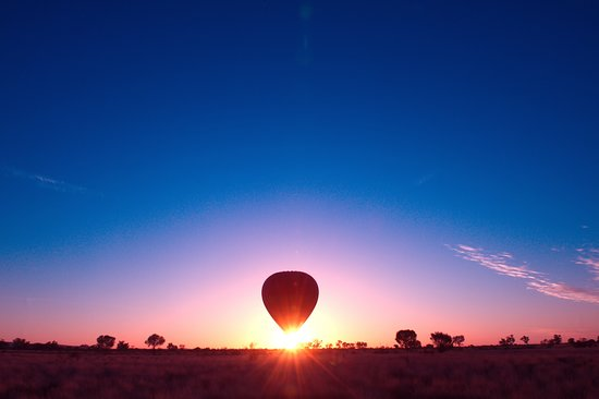 Outback Ballooning at sunrise, Alice Springs