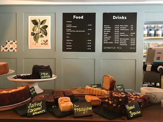 Menu Picture Of Jericho Coffee Traders Oxford Tripadvisor