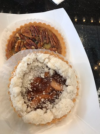 Cafe Beignet on Royal: Pecan and apple tarts