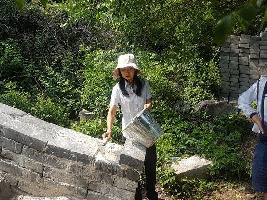 Yanqing Badaling Incomplete Great Wall: Restoring Badging with Botrip