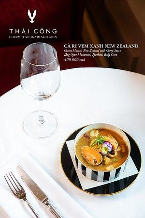 Thai Cong Interior Design & Restaurant: New Zealand Green Lipped Mussels Soup