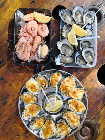 Greenwell Point, Австралия: Prawns and Oysters