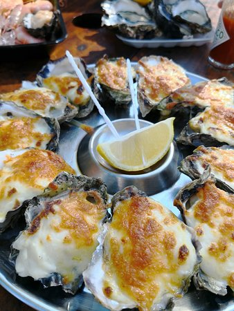 Jim Wilds Oyster Service: Delicious Oysters Mornay