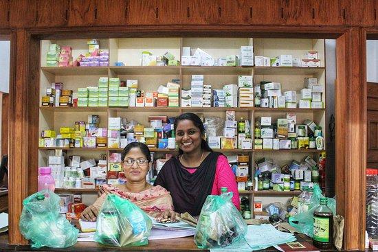 Matt India Ayurveda Centre: pharmacy