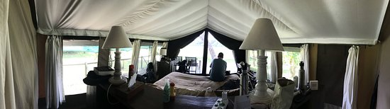 """Little Governors' Camp: The """"tent"""""""