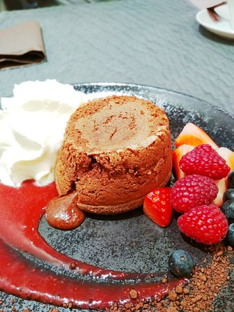 Restavracija Kavarna K5: delicious dessert - chocolate mousse - must try
