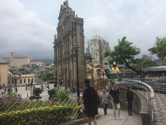 圣保罗大教堂遗址(大三巴牌坊)照片
