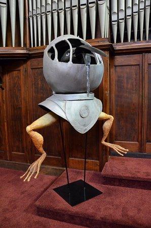 Jheronimus Bosch Art Center: inspirend by Jeroen Bosch figures