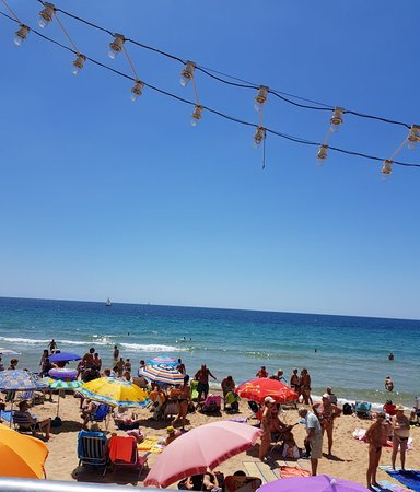 Playa de Levante: Beautiful beach on a beautiful day