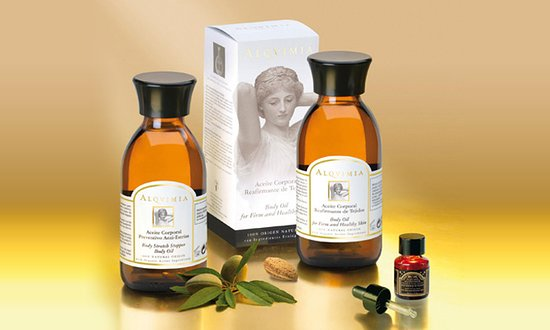 Alqvimia essential oil used in our massage and facial treatments