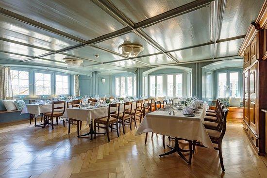Grüningen, Ελβετία: Der ehrwürdige Hirschen-Saal, für Ihr Bankett bis 50 Personen