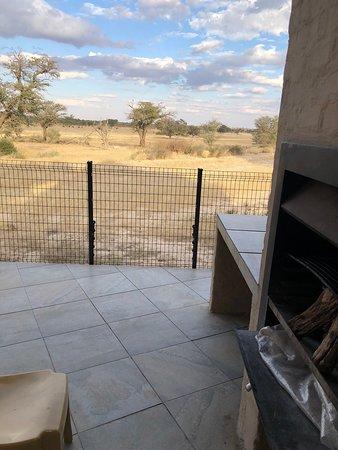 Kgalagadi Transfrontier Park, Südafrika: View from braai area