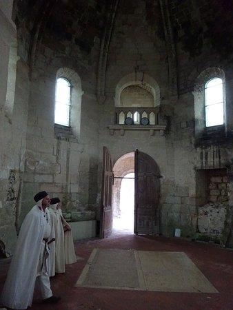 Binnenin de kapel