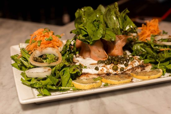 Rustic Bar & Eatery: We have a great selection of healthy foods!