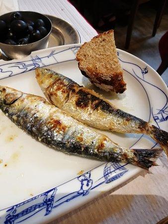 Restaurante A Cabana: Boa sardinha