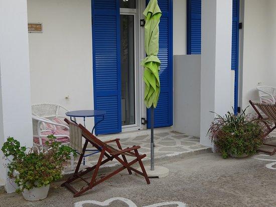 Paradise Art Hotel: Εσωτερικό μπαλκόνι