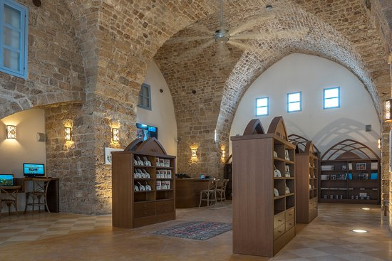 Acre, Israel: This gorgeous 100 year old building was carefully renovated to receive his antique charm.