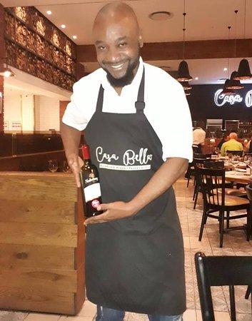 Casa Bella Somerset West: Waiter - Freddy