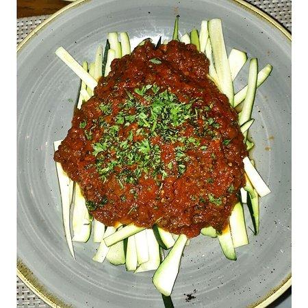 Zucchini - the pasta replaement