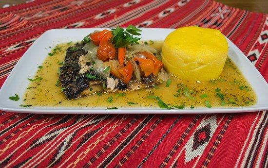 Codlea, Romania:  Delicious food