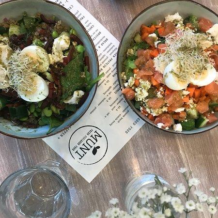 MUNT-Saladebar