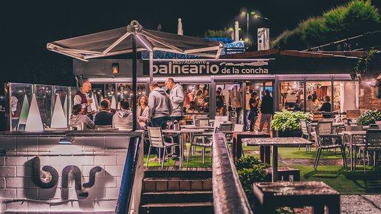 Balneario de la Concha: Terraza de la Taberna