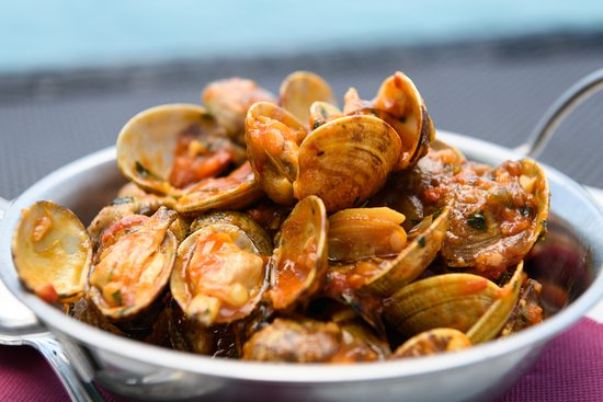 Restaurante La Bocana: Almejas marinera